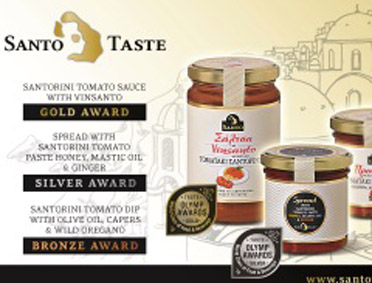 Santo Taste: Rewarding innovative ideas stemming from tradition!